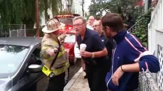 Fire on Calvin St., Somerville, July 25, 2013, 6:15 AM
