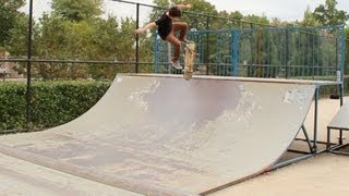 Creative Skateboarding Mini Ramp Combo!