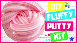 DIY Fluffy Putty Kit with Foam Pellets | Slime Time with Magic Time!