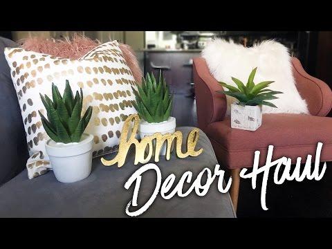 Home Decor Haul   Target & HomeGoods