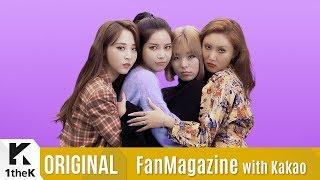 [FanMagazine with Kakao X  1theK] MAMAMOO(마마무)