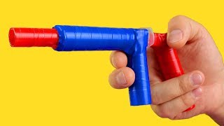 DIY NERF GUN That Shoots!