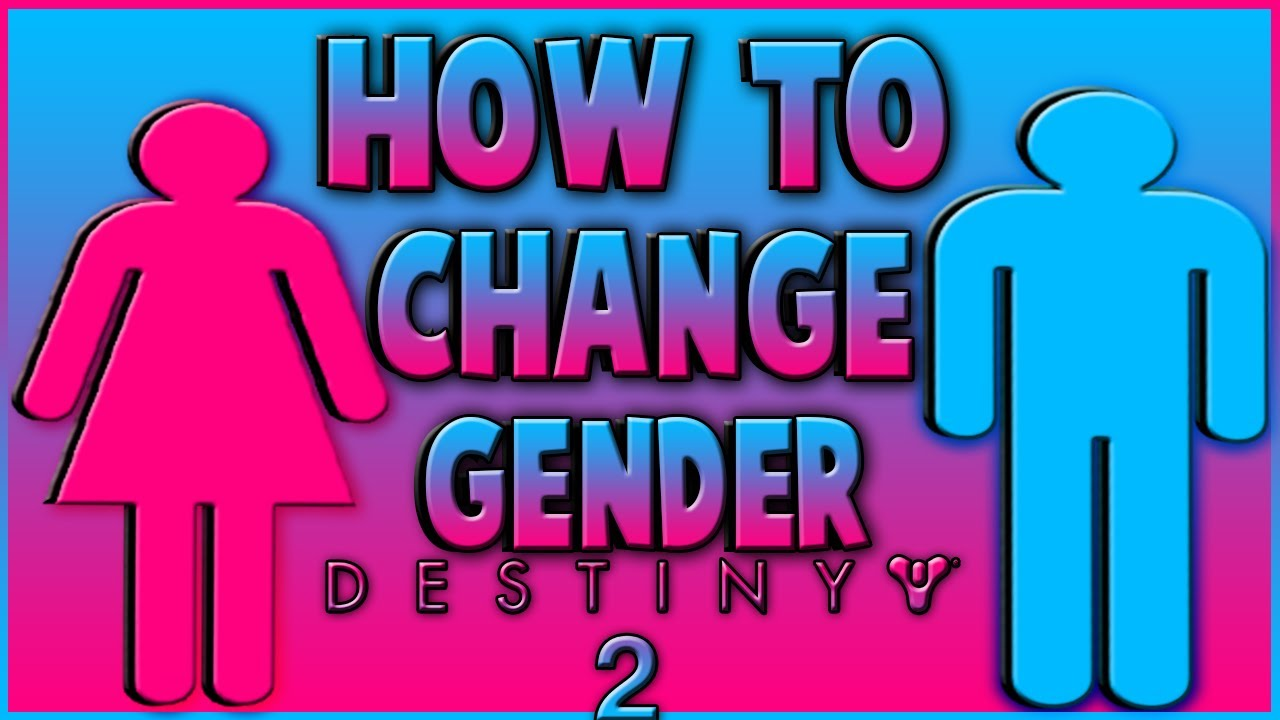How to change sex