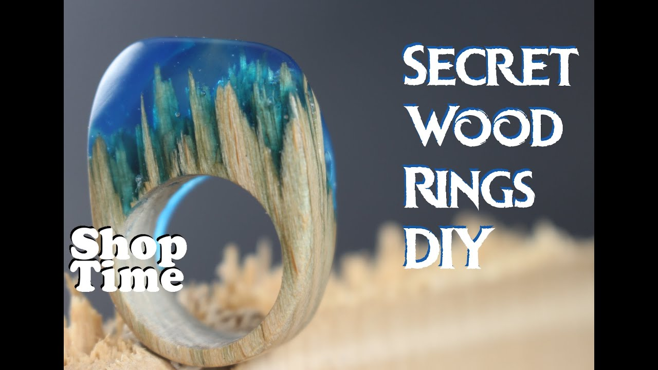 Secret Wood Rings DIY - YouTube