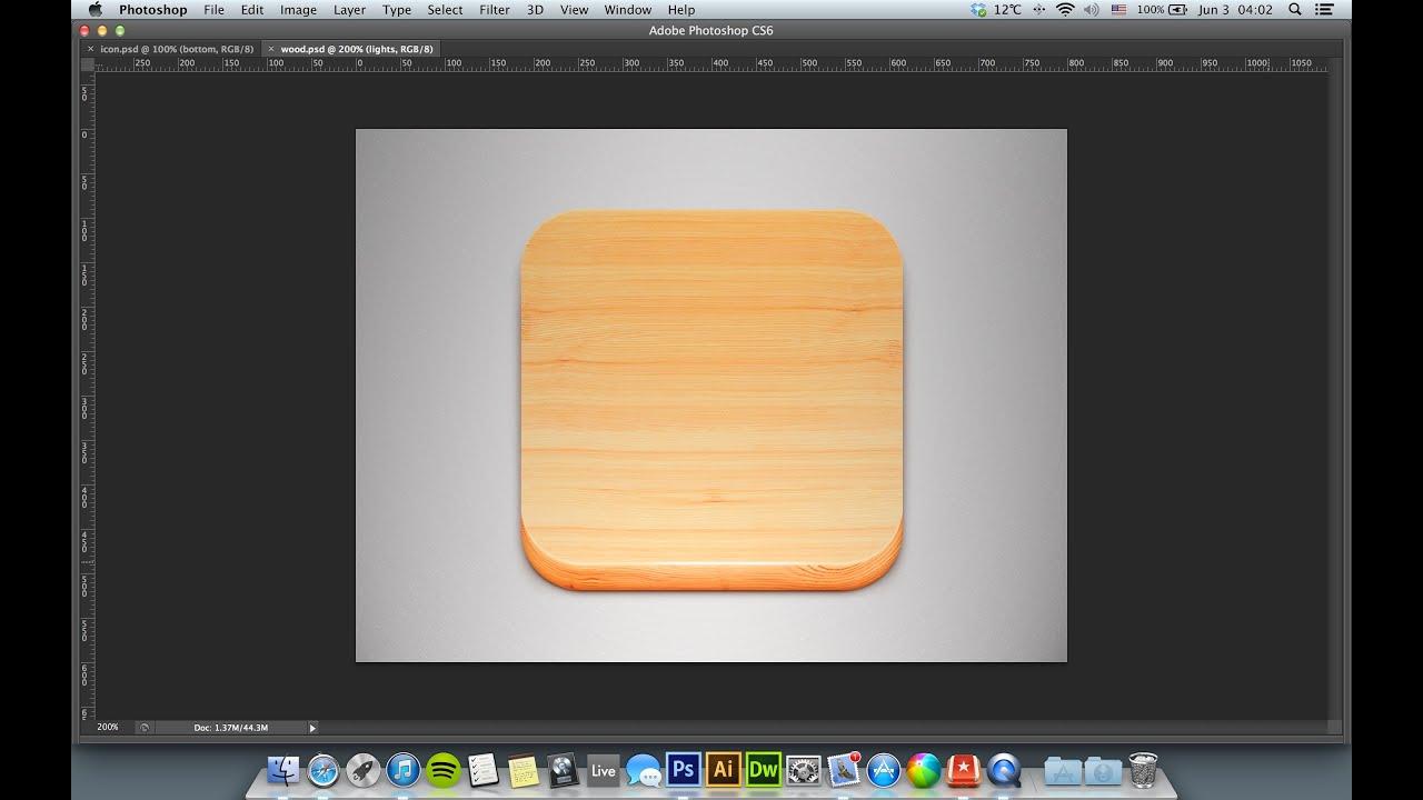 Photoshop tutorial create ios app icon youtube photoshop tutorial create ios app icon baditri Gallery