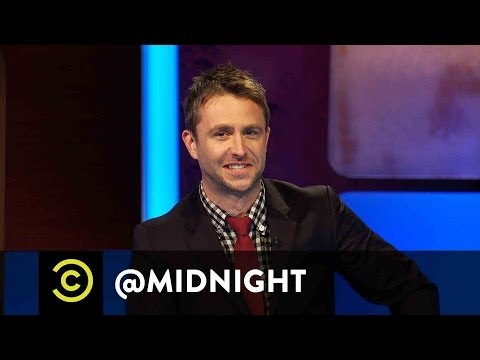 Chris Hardwick @midnight - #HashtagWars - #CelebrityBooze (Comedy Central)