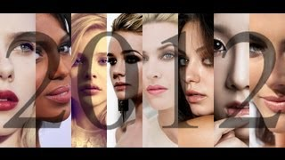 The 100 Most Beautiful Faces of 2012