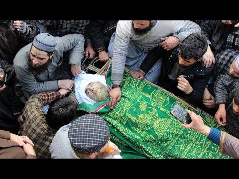 Last Journey Of Mulana Mushtaq Ahmed Khan  Tribute To Khan Sab Seer Hamdan