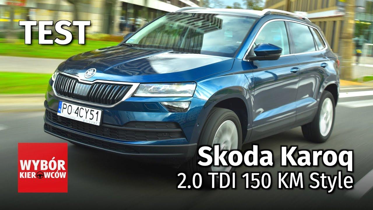 skoda karoq 2 0 tdi 150 km style test pl recenzja opinie po polsku youtube