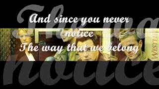 Obvious-Westlife(lyrics)