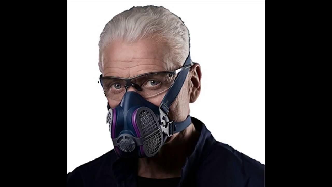 gvs spr457 elipse p100 dust half mask respirator