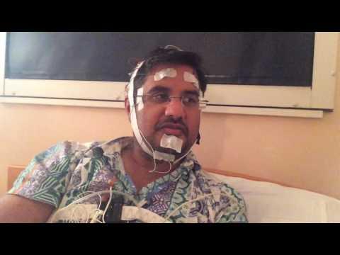 Antony Carpen - at Papworth Hospital for a sleep study. 27 Sept 2016