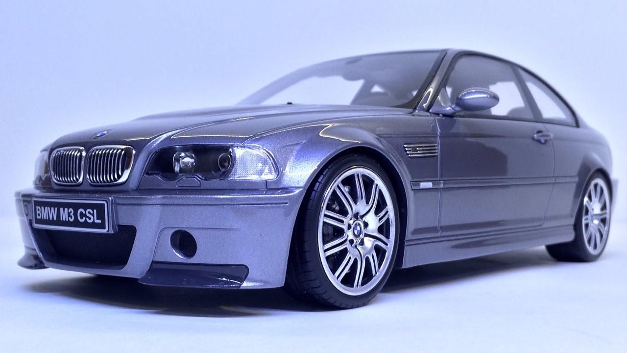 Bmw M3 E46 Csl 2003 1 18 Scale Ottomobile Unboxing