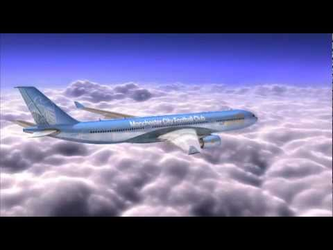 Etihad Airways - Manchester City FC Aircraft Livery