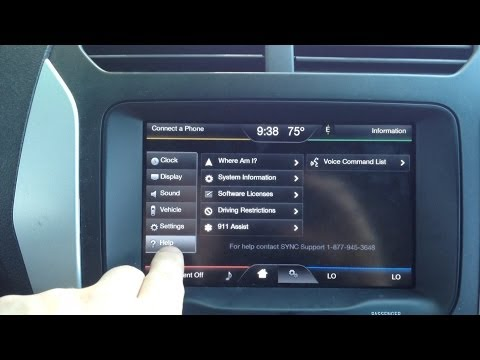 My Ford Touch Problems- New Software Update