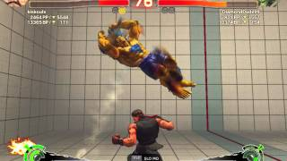 KissKoulx (Ruy) vs DiamondDude99 (Blanka) - The Beast of the Jungle is back folks. SSFIV v2012