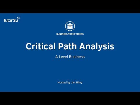 Network Analysis (Critical Path Analysis) Explained