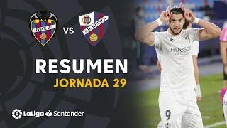 Resumen de Levante UD vs SD Huesca (0-2)
