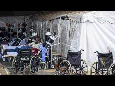 ЮАР: решающая битва с пандемией