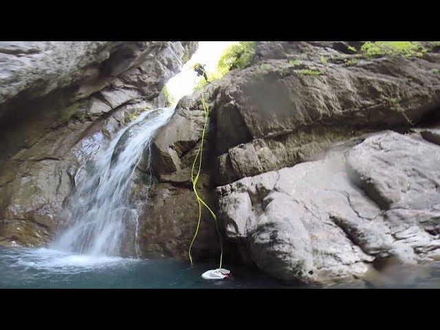 Club Alpin de Pau - Le Canyon Aguaré - Eté 2018