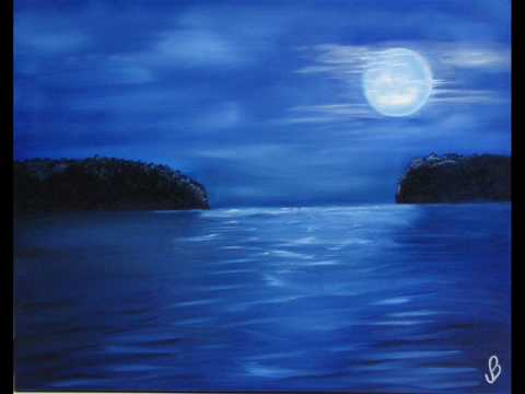Sydney Poma - Swimming Pool ... Moon on the Water