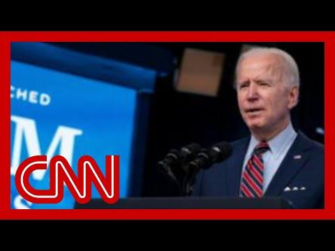 See Joe Biden's remarks as he touts Covid-19 vaccine milestone