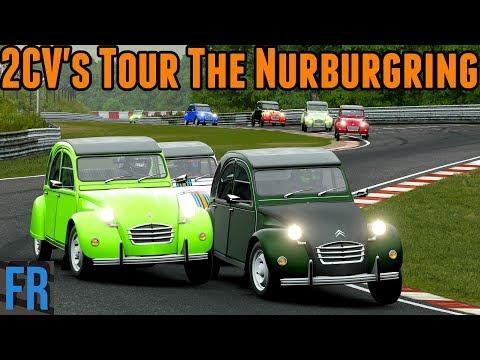 Forza Motorsport 7 Challenge - 2CV's Tour The Nurburgring