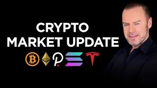 Market Update: Bitcoin status, Ethereum quadrupling, top 10 shuffle, Tesla and more