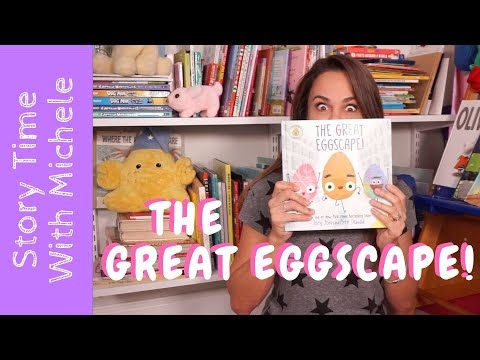 """Story Time With Michele! """"The Great Eggscape"""" Read Aloud For Kids"""