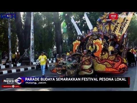 Meriah!! Festival Pesona Lokal Digelar di Malang, Jawa Timur - SIM 15/10 Mp3