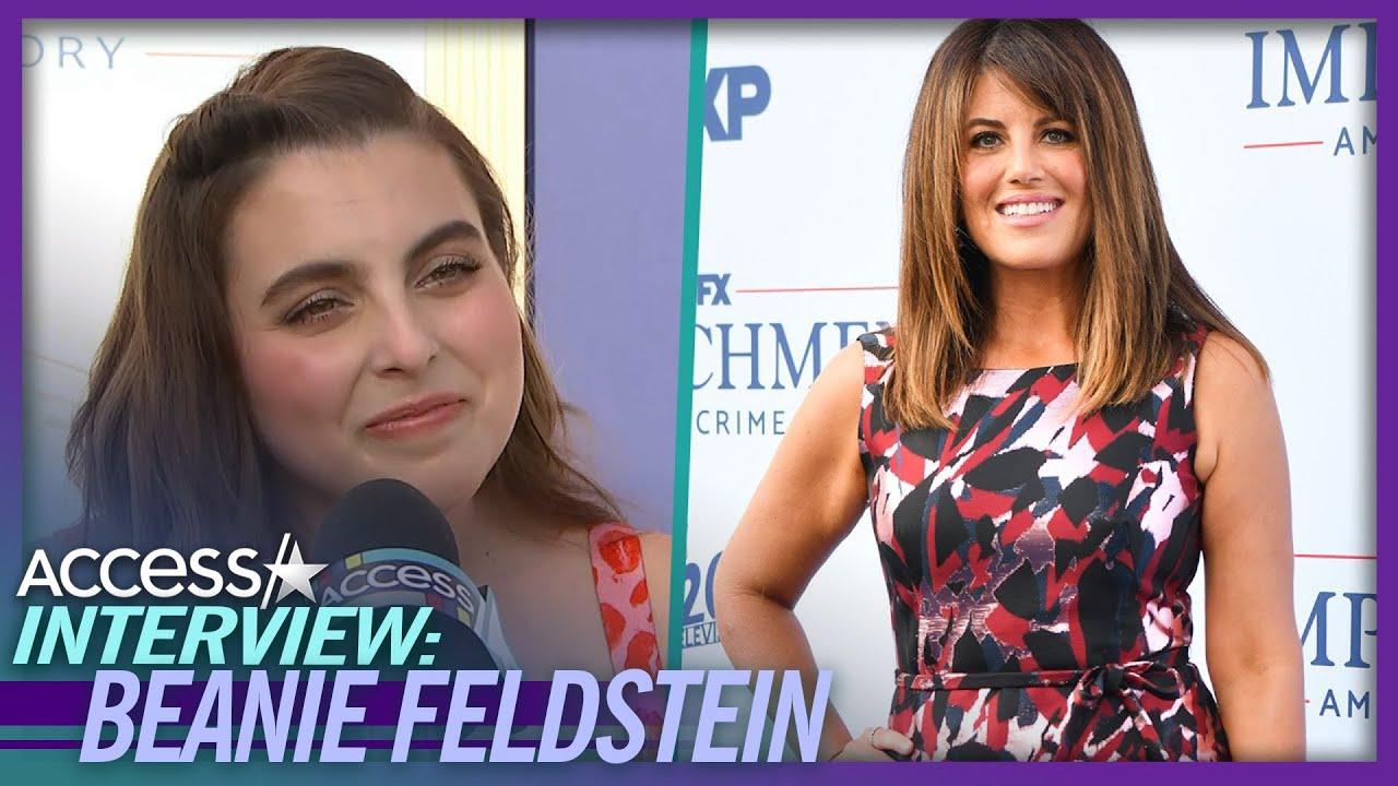 How Monica Lewinsky Helped Beanie Feldstein For 'Impeachment'