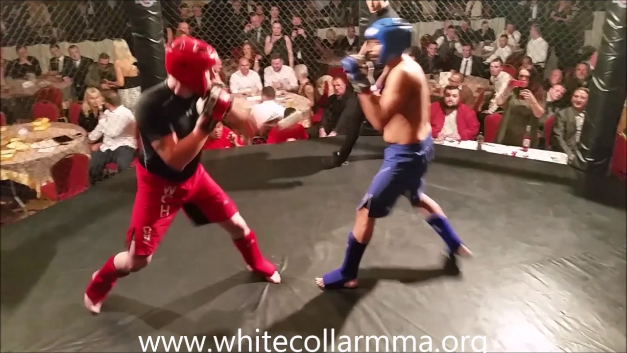 White collar cage fighting