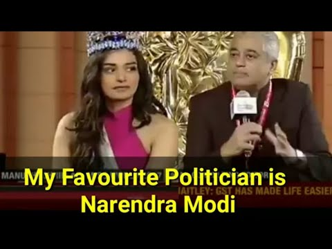 Miss world manushi chiller slams rajdeep sardesai in live interview