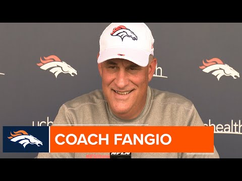 Coach Fangio: Resting starters in #DENvsLAR is 'best thing to do for our team'
