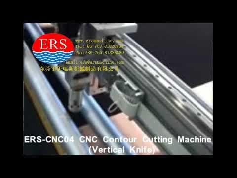 CNC Foam Cutting Machine ERS CNC04 Vertical Knife Kitchen Foam 切清洁绵