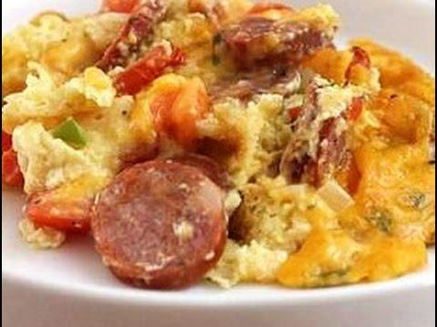 Cajun Andouille Sausage Penne Pasta Erole