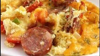 Cajun Andouille Sausage Penne Pasta Casserole