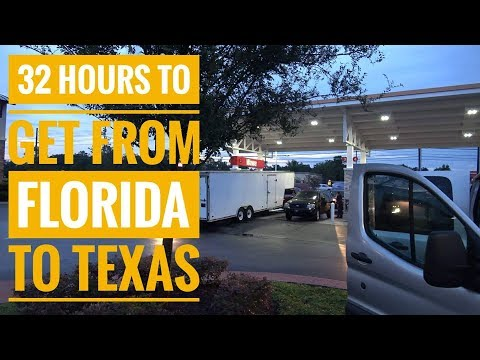 OUR TRIP TO FORMULA DRIFT TEXAS - LEAVING FLORIDA BEFORE IRMA!