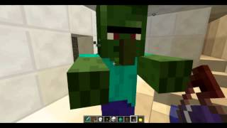 [Tuto Minecraft] Comment transformer un zombie villageois en villageois [FR]