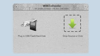 Create a Bootable USB Flash Drive For Windows 8 with WiNToBootic
