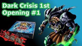 OLDSCHOOL YuGiOh 1st Edition Dark Crisis Box Opening #1