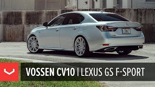 Lexus GS 350 F Sport | Vossen CV10 Concave Wheel