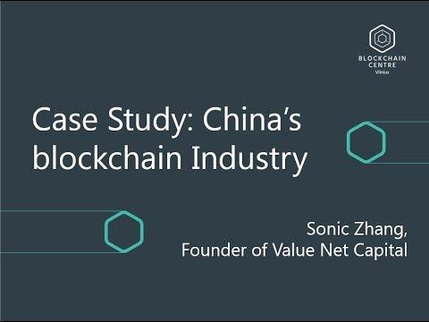 China's Blockchain Industry | Blockchain Centre Vilnius Launch Presentation