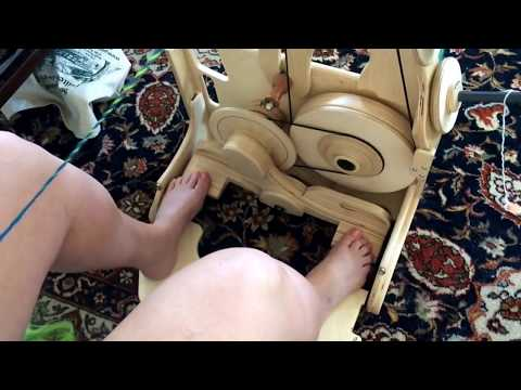 Review and demo of spinolution king bee wheel