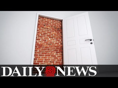 German Man Opens His Front Door And Finds A Brick Wall Built Overnight