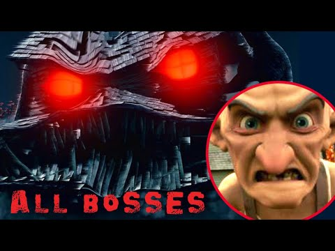 Download Monster House All Bosses | Boss Fights  (PS2, Gamecube)
