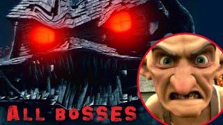 Monster House All Bosses (PS2, Gamecube)