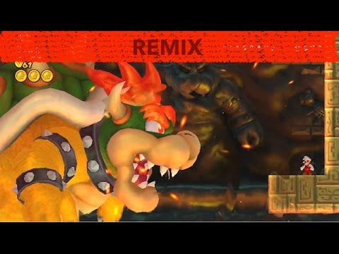 New Super Mario Bros 2/wii Final boss remix