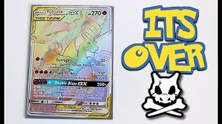 Search For Rainbow Rare Charizard is Over.