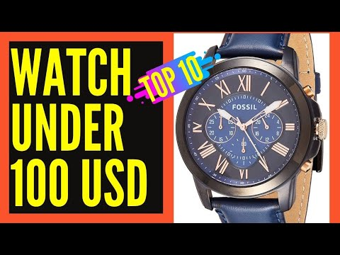Top 10 Best Mens Watches Under 100 Dollars ||  Best Watches For Men Reviews